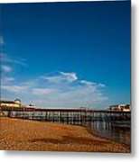 Hastings Pier Metal Print