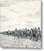 1805 Napoleon At Austerlitz, 1908 Metal Print