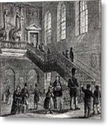 1830 Montagu House Natural History Museum Metal Print