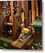 18th Century Machine Shop Metal Print by Judi Quelland