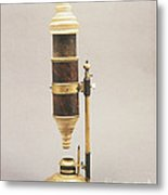 18th Century Microscope Metal Print by Tomsich