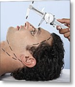 Cosmetic Surgery Metal Print by Adam Gault