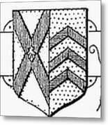 Oxford: Coat Of Arms Metal Print