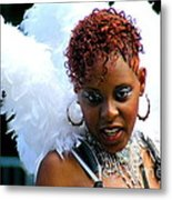 West Indian Day Parade Brooklyn Ny Metal Print