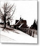 1900 Farm Home Metal Print