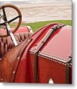 1911 Fiat S61 Steering Wheel Metal Print