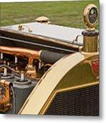 1912 Mercer Model 35 C Raceabout Engine And Motometer Metal Print