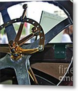 1913 Chalmers - Steering Wheel Metal Print