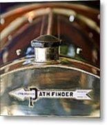 1913 Pathfinder 5-passenger Touring Hood Ornament Metal Print