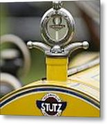1914 Stutz Series E Bearcat Hood Ornament Metal Print