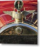 1915 Brewster-knight Model 41 Landaulet Hood Ornament 2 Metal Print