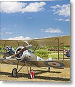 1916 Sopwith Pup Airplane On Airfield Poster Print Metal Print