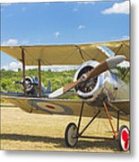 1916 Sopwith Pup Biplane On Airfield Canvas Photo Poster Print Metal Print