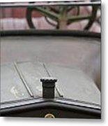 1916 Winton Model 33 Touring Hood Ornament Metal Print