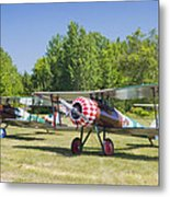 1917 Nieuport 28c.1 World War One Antique Fighter Biplane Canvas Poster Print Metal Print