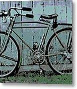 1918 Harley Davidson Bicycle Metal Print