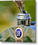 1924 Isotta-fraschini Tipo 8 Torpedo Phaeton Hood Ornament Metal Print