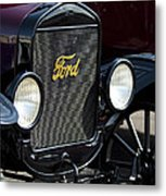 1925 Ford Model T Coupe Grille Metal Print