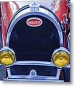 1927 Bugatti Replica Grille Headlights Metal Print