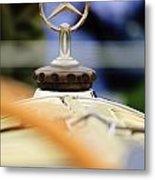 1927 Mercedes-benz S Hood Ornament Metal Print