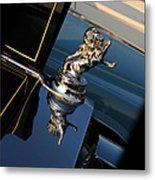 1928 Franklin Sedan Hood Ornament Metal Print