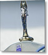 1928 Isotta Fraschini Tipo 8as Landaulet Hood Ornament Metal Print