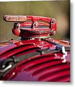 1929 Birkin Blower Bentley Hood Ornament Metal Print