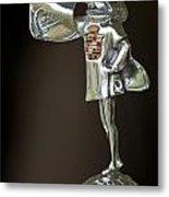 1929 Cadillac 1183 Dual Cowl Phaeton Hood Ornament Metal Print