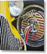 1929 Ford Model A Roadster Wheel Metal Print