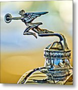 1929 Packard Hood Ornament Metal Print