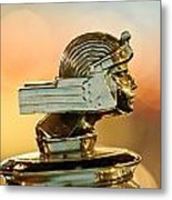 1929 Stutz Series M Four-passenger Dual-cowl Speedster Hood Ornament  Metal Print