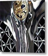 1931 Chrysler Cg Imperial Roadster Hood Emblem Metal Print