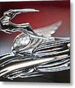 1931 Chrysler Cg Imperial Roadster Hood Ornament Metal Print