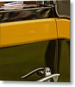 1931 Chrysler Cg Imperial Waterhouse Convertible Victoria Door Handle Metal Print