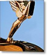 1931 Cord L-29 Legrande Speedster Hood Ornament 5 Metal Print