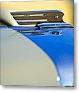 1931 Marmon Sixteen Convertible Coupe Hood Ornament Metal Print