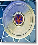 1931 Stutz Dv-32 Convertible Sedan Wheel Emblem Metal Print