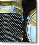 1932 Alvis-6 Speed 20 Sa Grille Emblem Metal Print