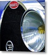 1932 Bugatti Type 55 Cabriolet Grille Emblem Metal Print