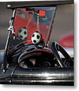1932 Ford Roadster Fuzzy Dice Metal Print