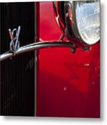 1932 Ford Roadster Grille Metal Print
