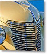 1933 Chevrolet Grille And Headlights Metal Print