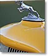 1933 Dodge Ram Hood Ornament Metal Print