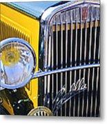 1933 Fiat Balilla Grille Metal Print
