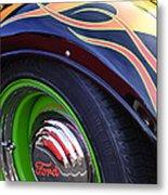 1933 Ford Wheel Metal Print