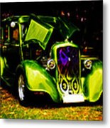 1933 Plymouth Hot Rod Metal Print by Phil 'motography' Clark