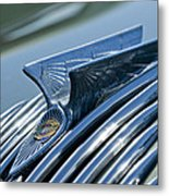 1934 Chrysler Airflow Hood Ornament 4 Metal Print