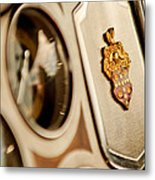 1934 Packard 1104 Super Eight Phaeton Emblem Metal Print by Jill Reger
