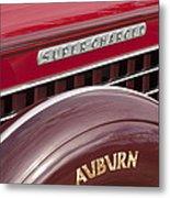 1935 Auburn Emblem Metal Print