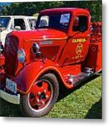 1935 Dodge Firetruck Metal Print